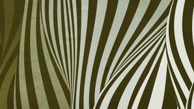 Kolorowa falowa chy? p?tli animacja Futurystyczny geometryczny pionowo linii wzor?w ruchu t?o ?wiadczenia 3 d 4k UHD ilustracja wektor