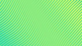 Kolorowa falowego zespołu powierzchni gradientu animacja Przyszłościowy geometryczny wzoru ruchu tło świadczenia 3 d 4k UHD royalty ilustracja