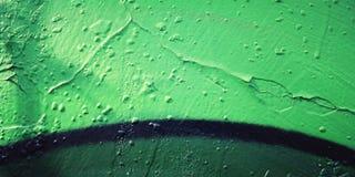 Kolorowa farba na concreat powierzchni - stonowany filtr Fotografia Stock