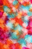 Kolorowa farby abstrakcja Obrazy Stock