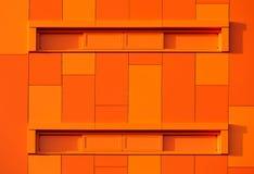 kolorowa fasada Zdjęcia Stock