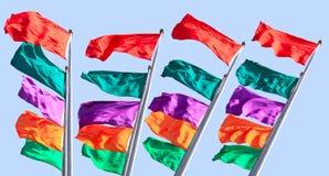 kolorowa flaga Obraz Royalty Free