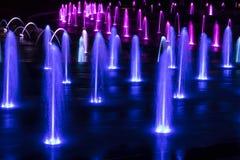 kolorowa fontanna Obraz Royalty Free