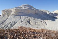 Kolorowa formacja przy Breakaways rezerwą, Coober Pedy, Australia Zdjęcie Stock