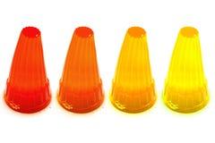 Kolorowa galareta Zdjęcia Stock