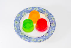 Kolorowa galareta obrazy stock