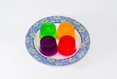 Kolorowa galareta Obraz Stock