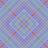 Kolorowa geometryczna bezszwowa wektoru wzoru tła wektoru ilustracja EPS 8 format Obraz Stock