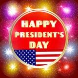 Kolorowa ilustracja dla Szczęśliwego prezydenta dnia royalty ilustracja