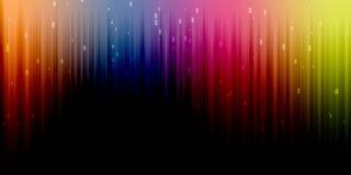 Kolorowa jaskrawa rozjarzona widma tła ilustracja Fotografia Royalty Free