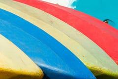 kolorowa kajaków sporta sterta Obrazy Royalty Free
