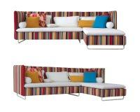 kolorowa kanapa Zdjęcie Stock