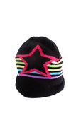 kolorowa kapeluszowa zima zdjęcie royalty free