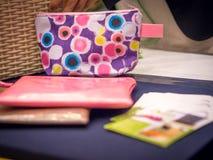 Kolorowa kieszonka na pokazie Fotografia Royalty Free