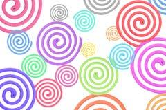Kolorowa komar spirala Zdjęcie Stock