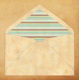 Kolorowa koperta, rocznika styl Obrazy Royalty Free