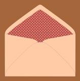 Kolorowa koperta, rocznika styl ilustracja wektor