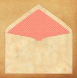 Kolorowa koperta, rocznika styl Zdjęcie Stock