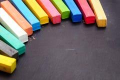 Kolorowa kreda obraz stock