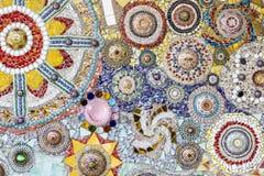 Kolorowa krystaliczna tło sztuka Phasornkaew Świątynny Khao Kho, Phe Fotografia Royalty Free