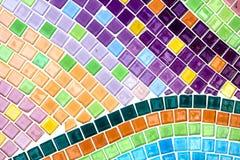Kolorowa krystaliczna tło sztuka Phasornkaew Świątynny Khao Kho, Phe Obraz Royalty Free