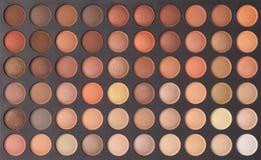 Kolorowa makeup oka cieni paleta Obraz Royalty Free