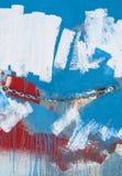 Kolorowa malująca ściana fotografia royalty free