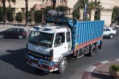 Kolorowa malująca ciężarówka w Marrakesh Zdjęcia Stock