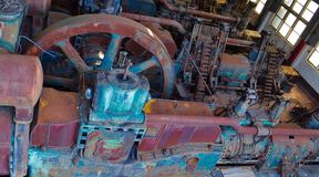 Kolorowa maszyneria Fotografia Royalty Free