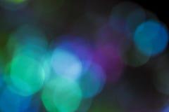 Kolorowa miękka kółkowa bokeh narzuta Fotografia Royalty Free