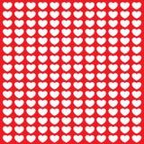 Kolorowa miłości pocztówka Zdjęcia Stock
