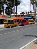Kolorowa mini ciężarówka Zdjęcie Royalty Free