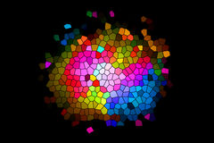 Kolorowa mozaika -10 Fotografia Royalty Free