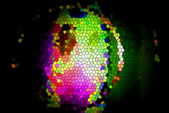 Kolorowa mozaika -2 Fotografia Royalty Free