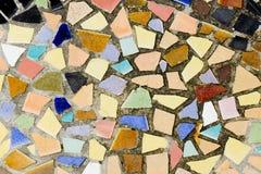 Kolorowa mozaiki płytka dekoracyjna Obraz Stock