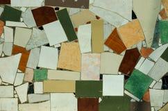 Kolorowa mozaiki podłoga, ściany lub Obraz Royalty Free