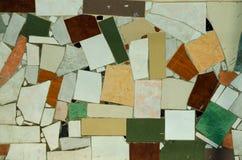 Kolorowa mozaiki podłoga, ściany lub Fotografia Stock