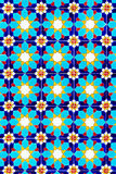 kolorowa mozaiki tekstury ściana Fotografia Royalty Free