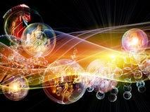Kolorowa muzyka Obrazy Royalty Free