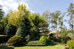 kolorowa ogrodowa wiosna Obraz Royalty Free