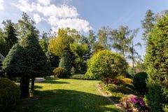 kolorowa ogrodowa wiosna Obrazy Royalty Free