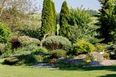 kolorowa ogrodowa wiosna Obraz Stock