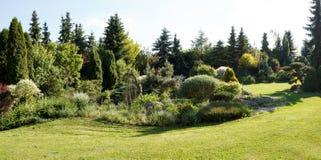 kolorowa ogrodowa wiosna Zdjęcia Royalty Free