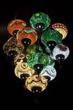 Kolorowa Orientalna lampa Fotografia Royalty Free