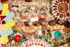 Kolorowa oszklona płytka fotografia royalty free