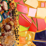 Kolorowa oszklona płytka Zdjęcia Royalty Free