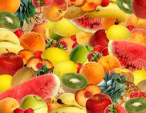 kolorowa owoców Zdjęcie Royalty Free