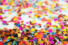 Kolorowa papierowa kropka Zdjęcie Stock