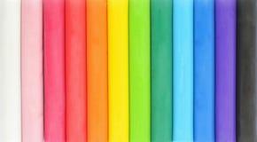 kolorowa plastelina Zdjęcie Stock