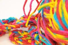 Kolorowa przędza Zdjęcie Stock